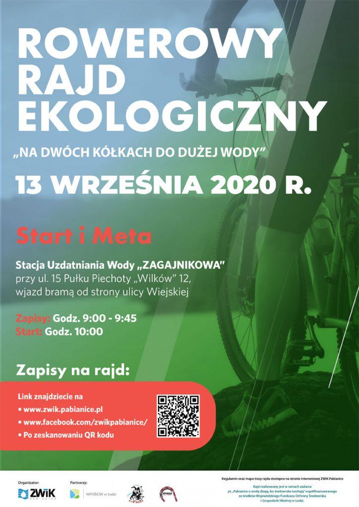 Plakat Rajdu Ekologicznego